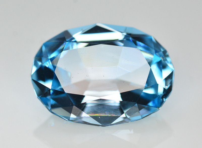 Stunning 20.15 Ct Natural Blue Topaz Gemstone
