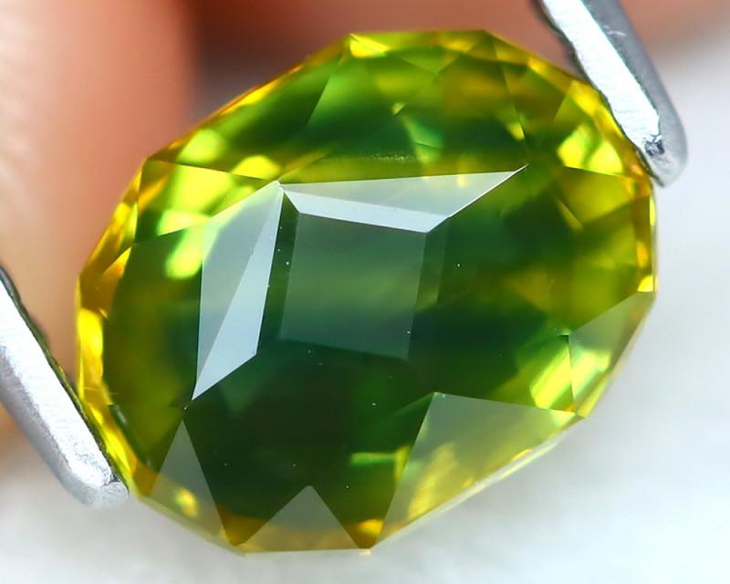 Sapphire 1.60Ct VVS Master Cut Natural Australian Parti Sapphire AT0237