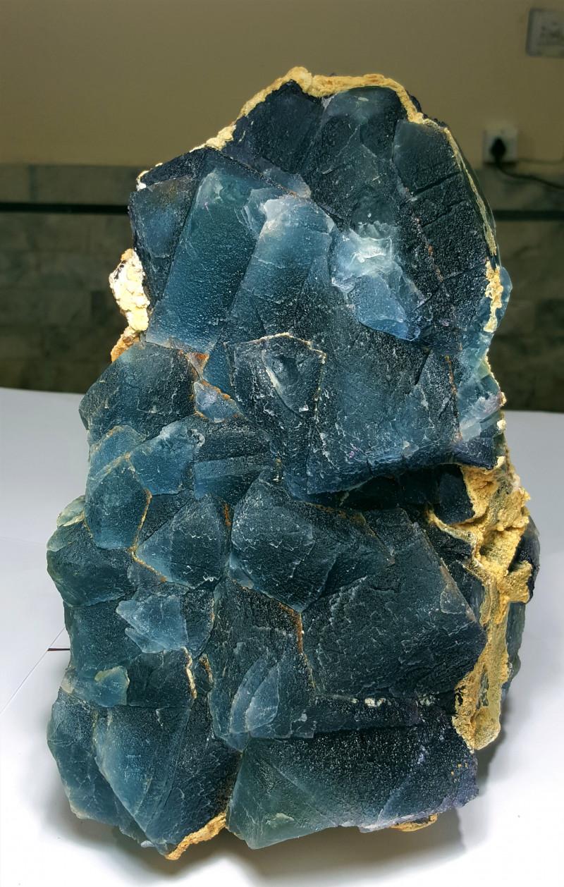 Amazing Natural color Change Huge Museum grade Damage free Fluorite Specime