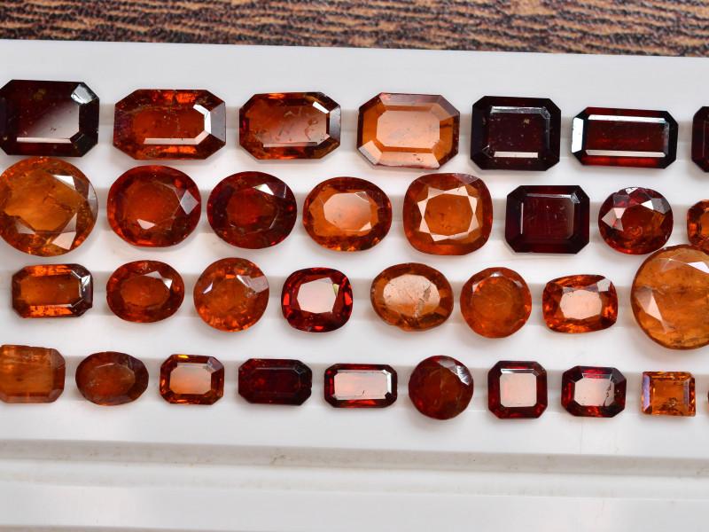 55.70 ct Natural Fanta Orange Color Spessartite Garnet ~ Lot