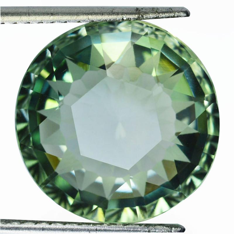 18.27Cts Natural Prasiolite(Green Amethyst ) Custom cut