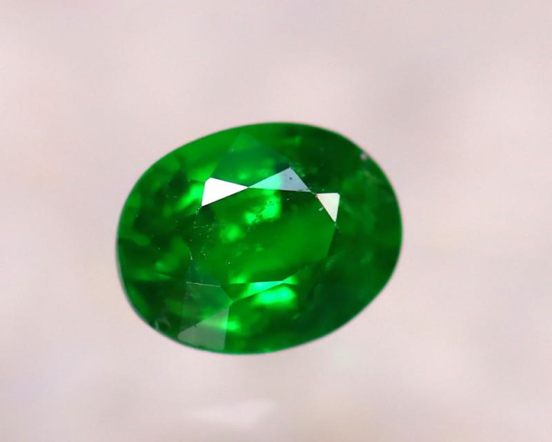 Tsavorite 0.70Ct Natural Intense Vivid Green Color Tsavorite Garnet DF2325