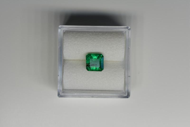 0.99 Carats Vivid Green AFGHAN (Panjshir) Emerald!