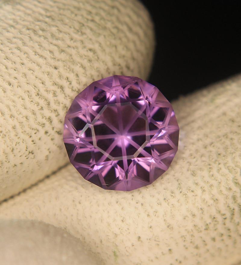 Master Cut Amethyst Gemstone Fancy Cut by Master Cutter
