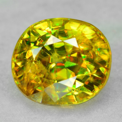 0.88 CT SPHENE WITH DRAMATIC FIRE AFGHANISTAN SP30