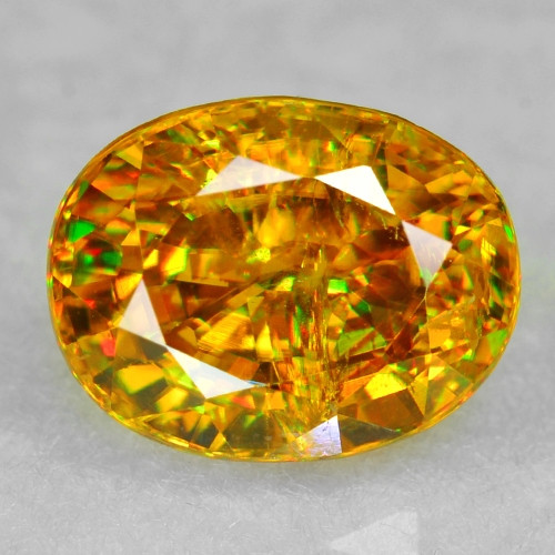 0.89 CT SPHENE WITH DRAMATIC FIRE AFGHANISTAN SP40