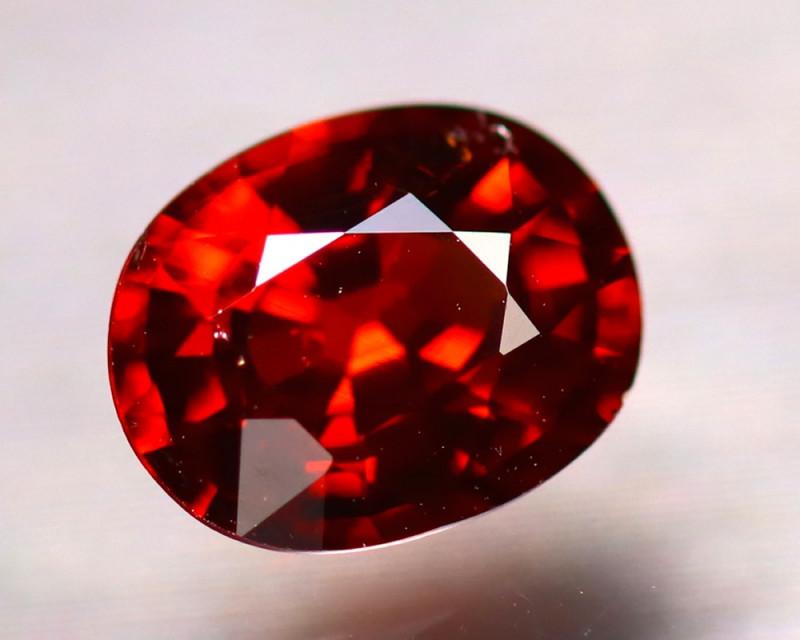 Garnet 1.29Ct Natural Red Spessartite Garnet EF2425/B34