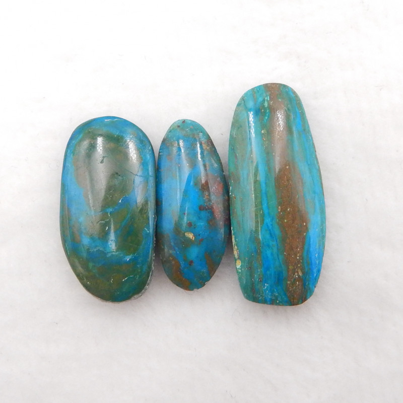 31.5cts Blue Opal Cabochons, October Birthstone, Blue Opal  Cabochons H175