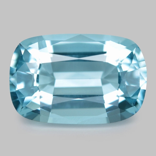 2.51 Cts Un Heated  Santa Maria Blue  Natural Aquamarine Loose Gemstone