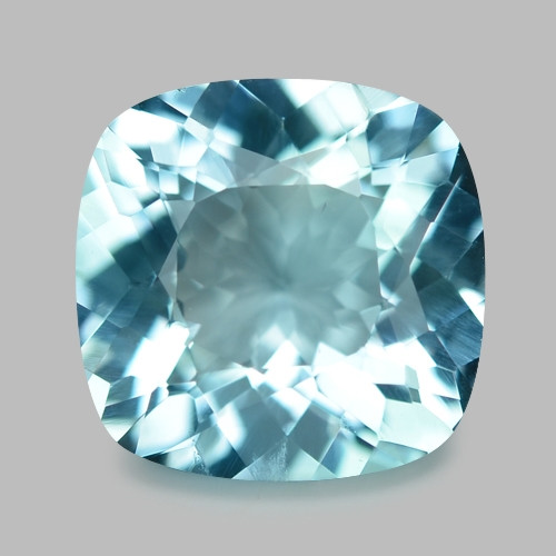 1.64 Cts Un Heated  Santa Maria Blue  Natural Aquamarine Loose Gemstone
