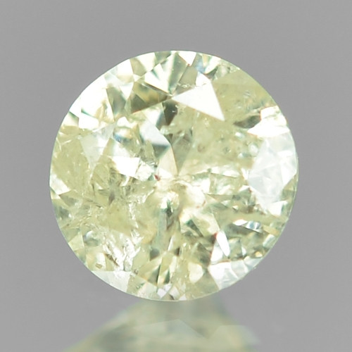 0.11 Cts Untreated Fancy Yellowish Grey Color Natural Loose Diamond