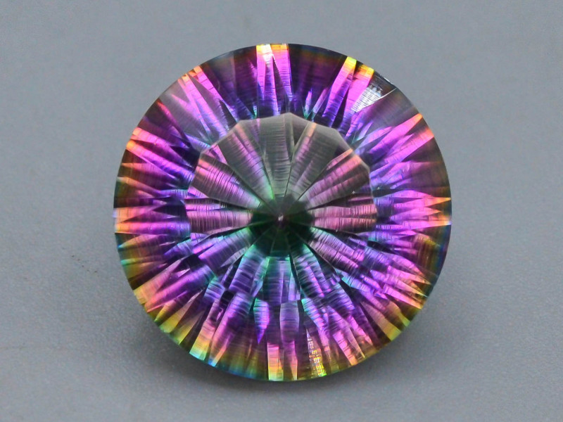 10.20 ct Natural Top Clor Rainbow Mystic Quartz t
