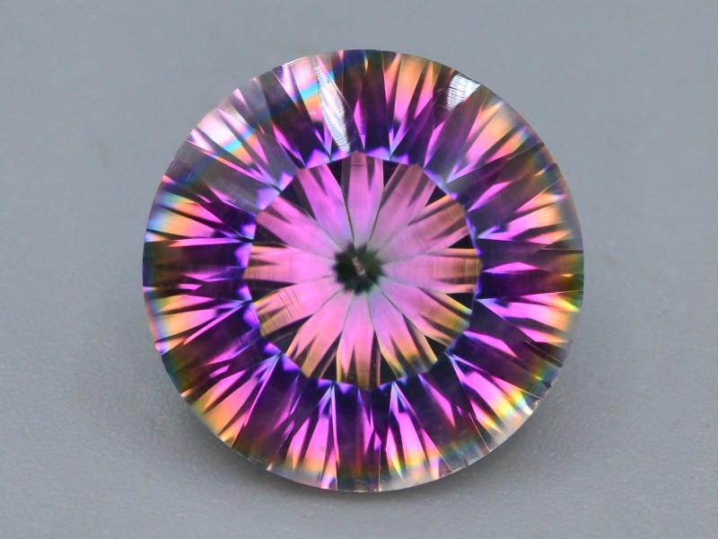 9.20 ct Natural Top Clor Rainbow Mystic Quartz t