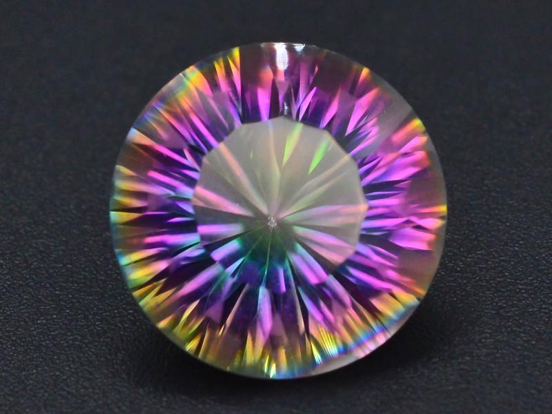 9.65 ct Natural Top Clor Rainbow Mystic Quartz t