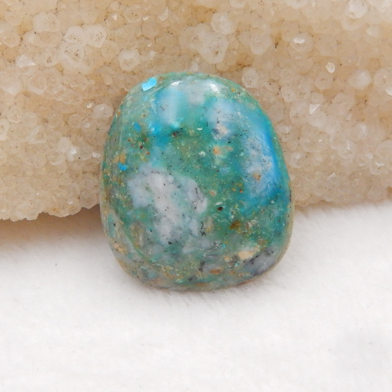 44cts Natural Blue Opal Cabochon, October Birthstone, Blue Opal H214