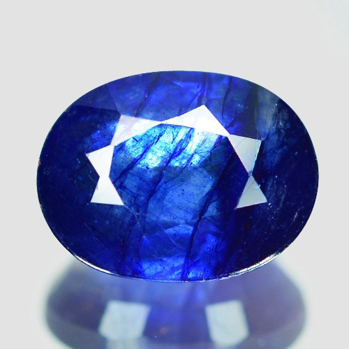 2.96 Cts Amazing Rare Natural Fancy Blue Ceylon Sapphire Loose Gemstone