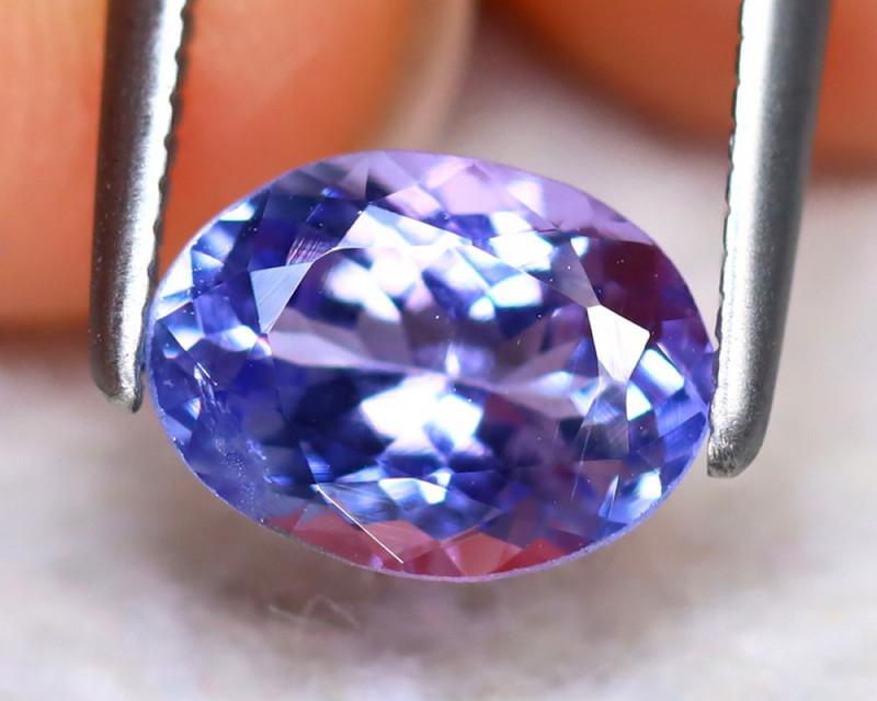 Tanzanite 1.17Ct Natural VVS Purplish Blue Tanzanite DA2510/D3