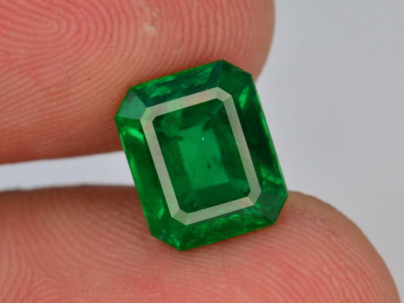 GRS CER AAA Grade 2.19 ct Natural Ethiopian Emerald
