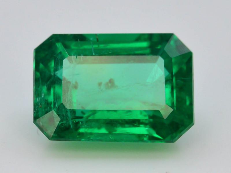 GRS CER ~AAA Grade 1.92 ct Natural Ethiopian Emerald