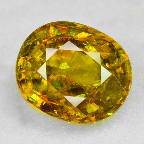 1.28 CT SPHENE WITH DRAMATIC FIRE AFGHANISTAN SP41