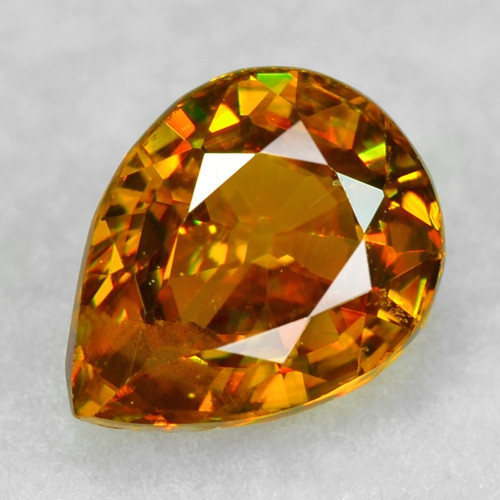 0.63 CT SPHENE WITH DRAMATIC FIRE AFGHANISTAN SP45