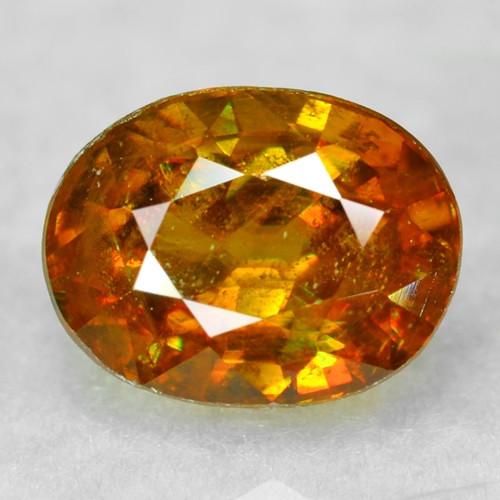 0.85 CT SPHENE WITH DRAMATIC FIRE AFGHANISTAN SP47