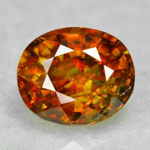0.72 CT SPHENE WITH DRAMATIC FIRE AFGHANISTAN SP48