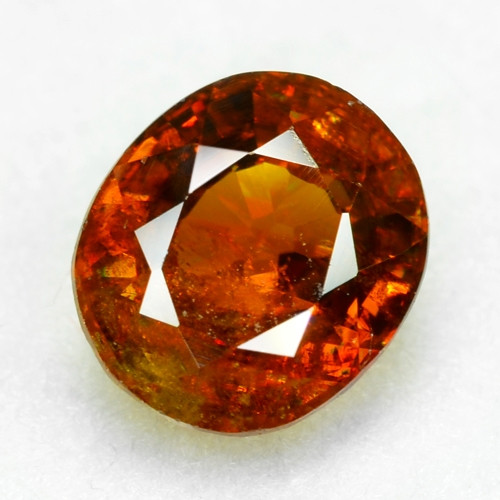0.77 CT SPHENE WITH DRAMATIC FIRE AFGHANISTAN SP50