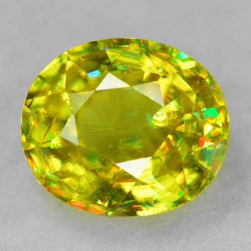 0.61 Crt Mind Blowing Fire Chrome Sphene ~ SH19