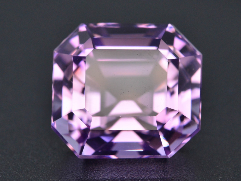 Top Color 17.85 ct AAA Cut Untreated Amethyst~ AS