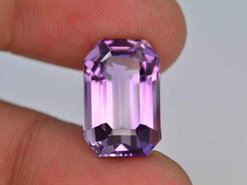 Top Color 9.60 ct AAA Cut Untreated Amethyst~ AS
