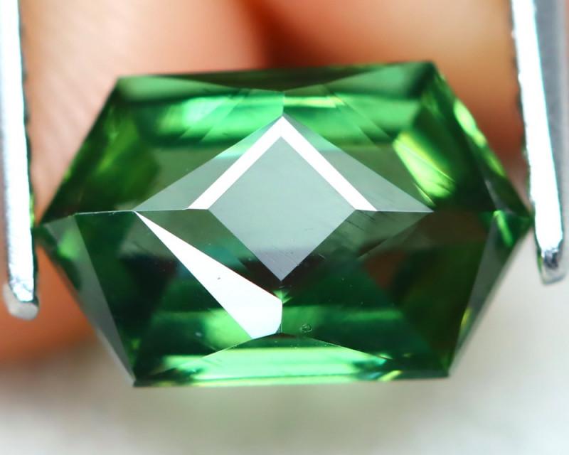 Green Apatite 1.71Ct VVS Master Cut Natural Green Apatite AT0462