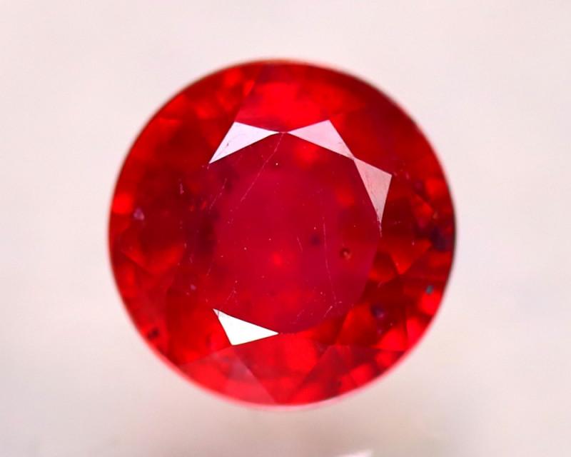Ruby 2.60Ct Madagascar Blood Red Ruby E2603/A20