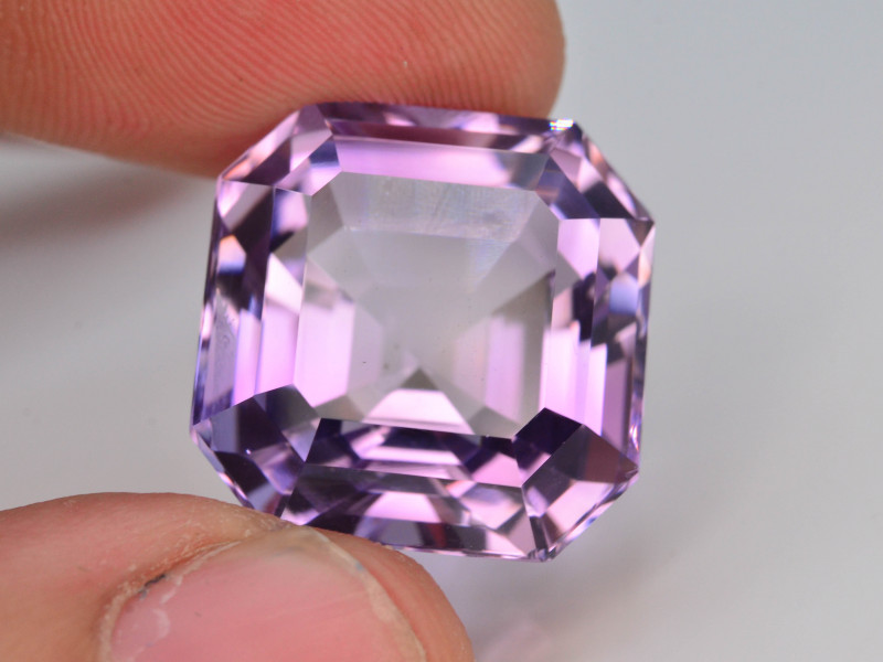 Top Color 23.55 ct AAA Cut Untreated Amethyst~ AS