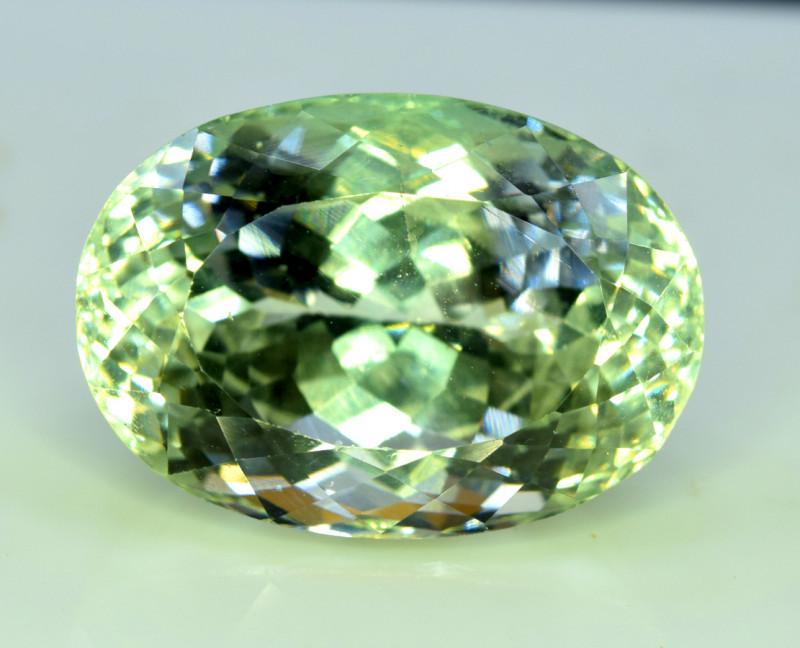 NR - 31.70 Carats Amazing Green Spodumene Gemstone