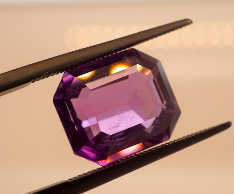 6.51 CT Unheated Intense Purple Amethyst (Uruguay)