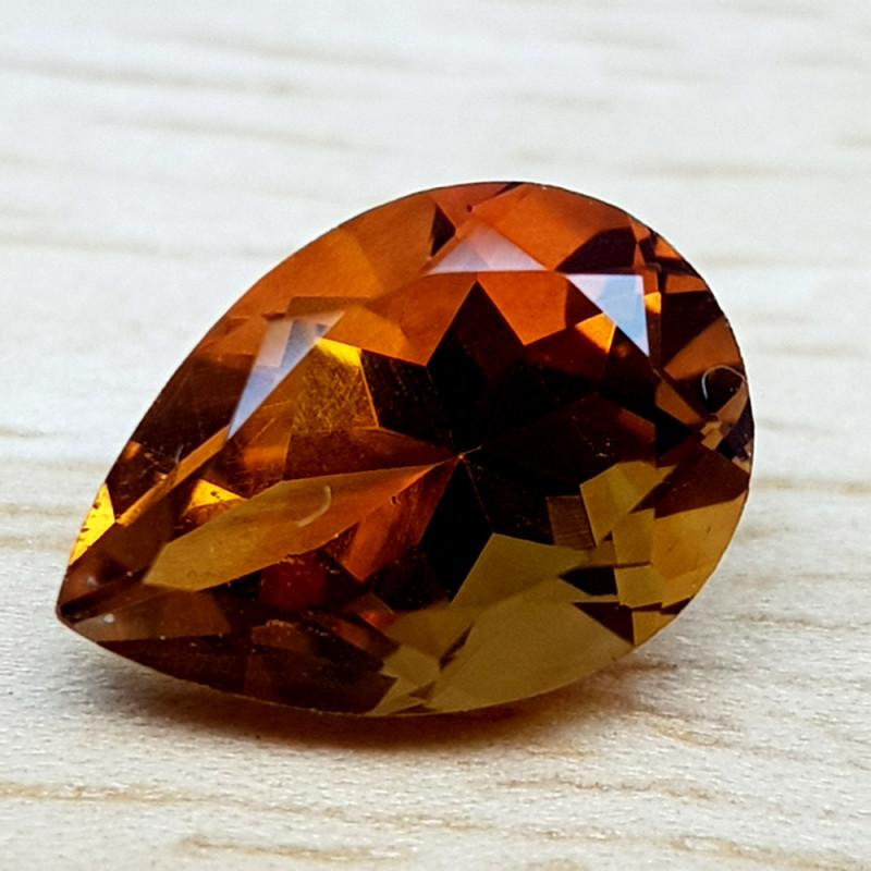 1.75Crt Madeira Citrine Natural Gemstones JI61