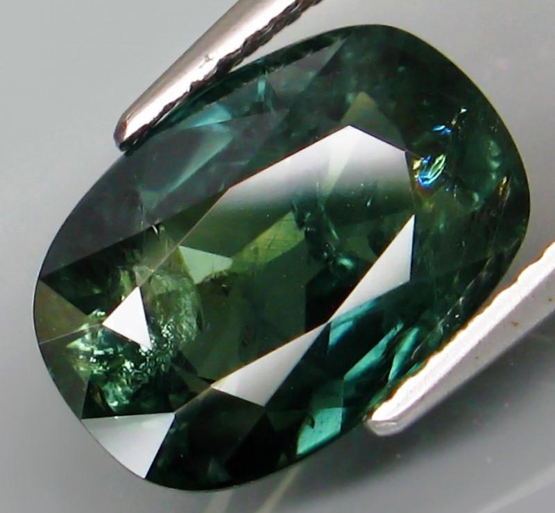6.30 ct.  Natural Earth Mined Blue Green Sapphire Australia