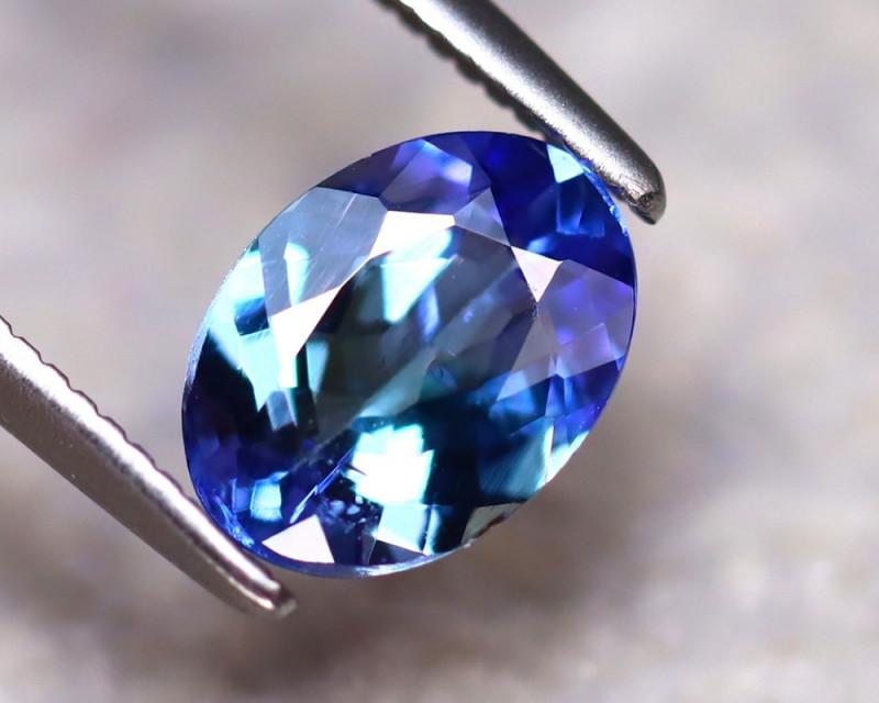 Tanzanite 1.05Ct Natural VVS Purplish Blue Tanzanite DAF2930/D3