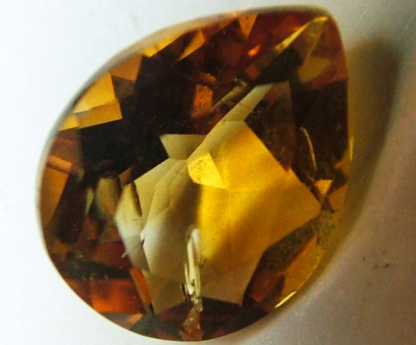 CITRINE NATURAL FACETED 2.95 CTS AS-
