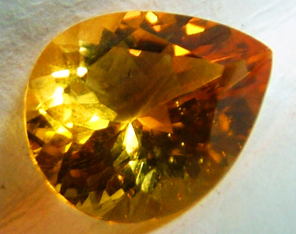 CITRINE NATURAL FACETED 2.75 CTS AS-852