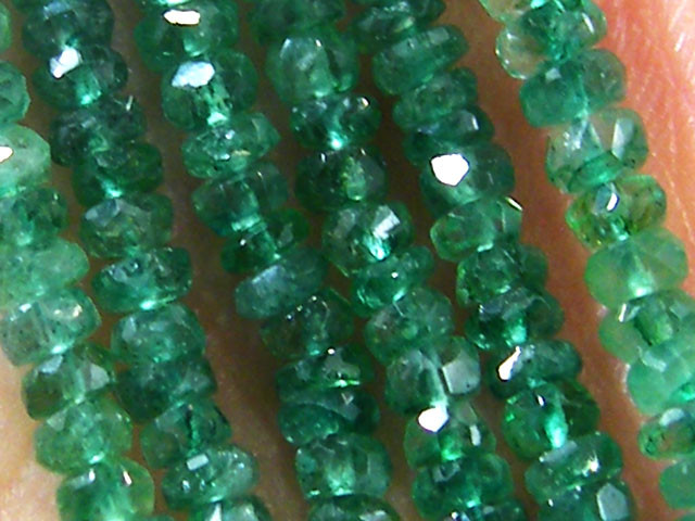 COLUMBIAN   BEAUTIFUL EMERALD  NECKLACE  156 CTS  ST 372