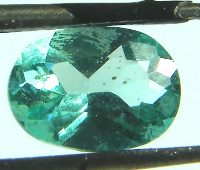 APATTIE SEA BLUE GREEN COLOUR STONE 1.02 CTS [S4350 ]VS