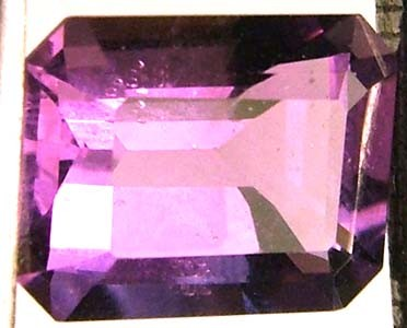 AMETHYST FACETED STONE 2.10 CTS CG - 85