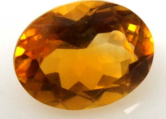 CITRINE FACETED NATURAL STONE 2.35 CTS  TBG-1681