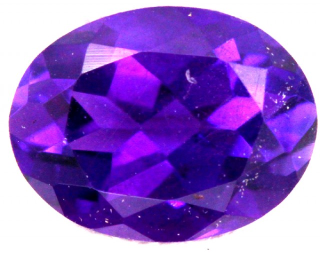 AMETHYST FACETED STONE 1.10 CTS CG - 290