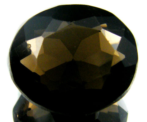 LARGE SMOKEY GREY FACETED TOPAZ 16.15 CTS  ST 562