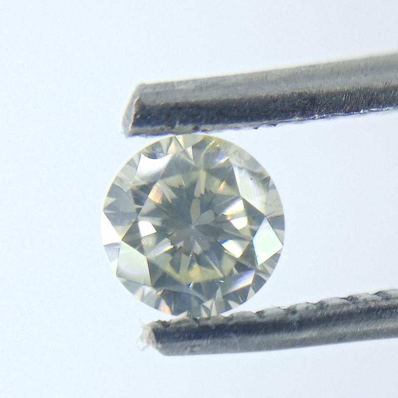 0.30ct Light Green   Diamond , 100% Natural Untreated