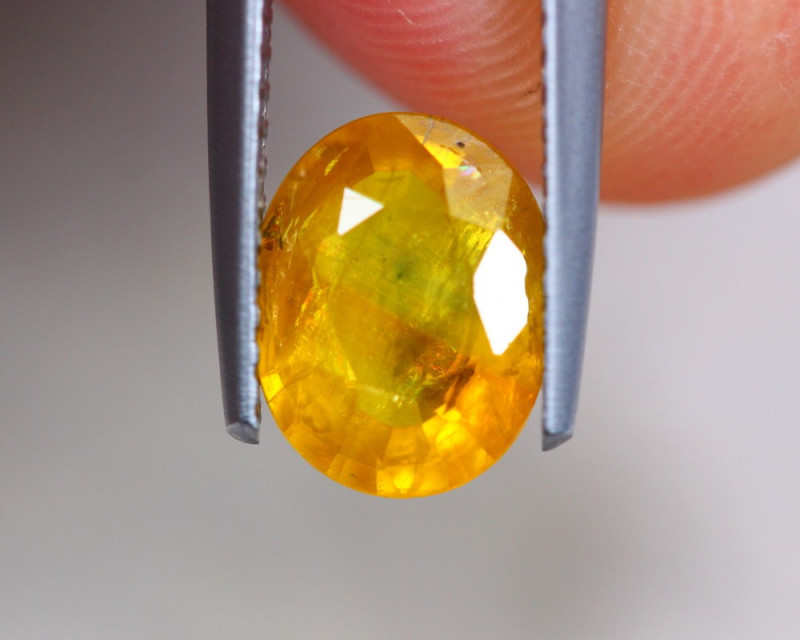 2.00Ct Natural Yellow Sapphire Oval Cut Lot GW7619
