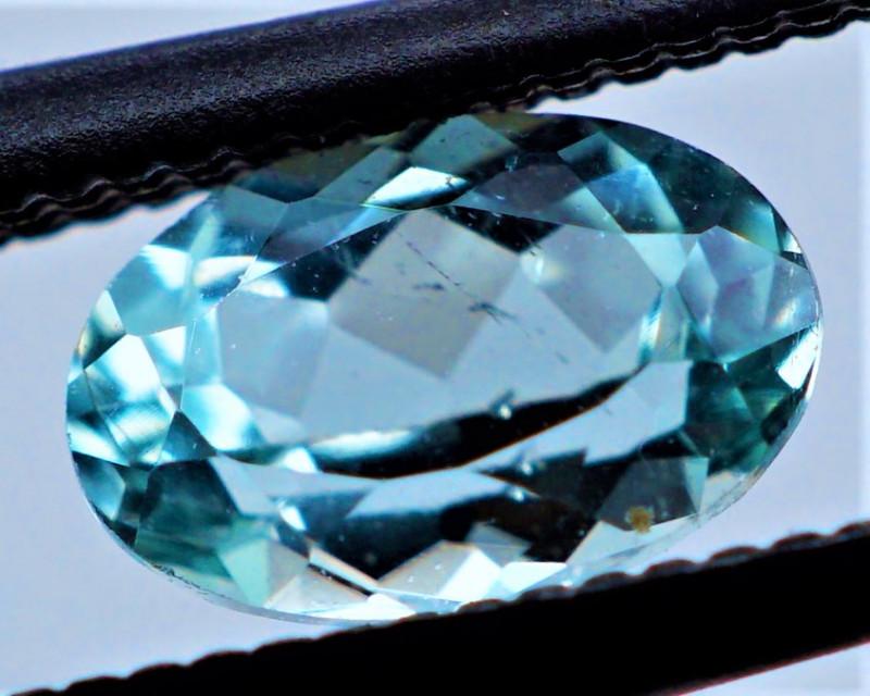 VVS! GLOWING PARAIBA 0.48 CT NEON BLUE Tourmaline